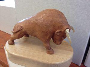 Bull by Ernie Perkins